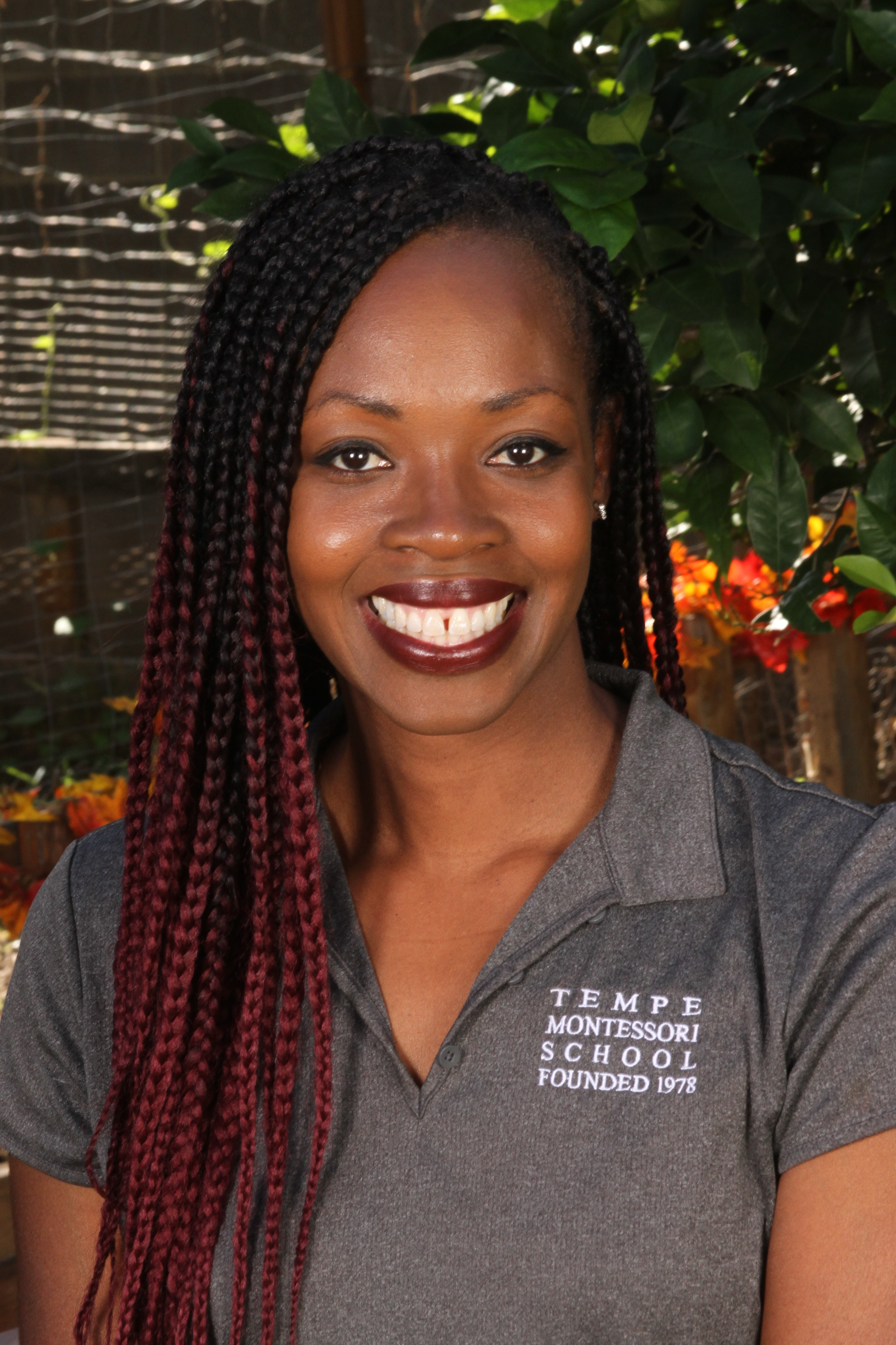 Jeriece Irving Tempe Montessori Teacher
